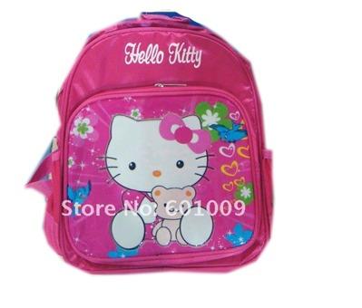Детский рюкзак для девочки Hello Kitty.